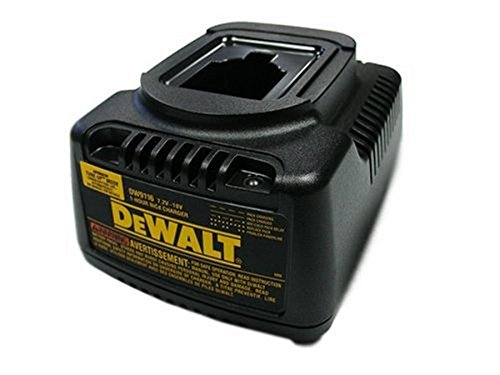 Dewalt DW9116 Replacement (2 Pack) 7.2-Volt to 18-Volt Pod Style 1 Hour Battery Charger # DW9116-2pk