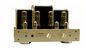 jolida audio jd202brc integrated stereo tube amplifier in silver home audio. Black Bedroom Furniture Sets. Home Design Ideas