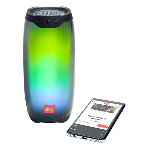 JBL Pulse 4 Wireless Bluetooth IPX7 Waterproof Speaker Pair Bundle - Black