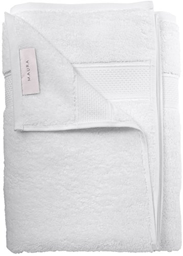 Maura Premium Quality Luxury Hotel & Spa Standard Turkish Bath Towels. 2017 (New Collection) Super Soft, Plush, Thick, Large 30x56 inches and Highly Absorbent. 100% Cotton Bathroom Towels