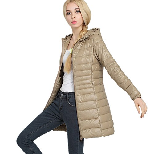 Powder Down Pillow Women's Jackets Packable Coat Lightweight Champagne Down Outwear LJYH 60YwqgE6