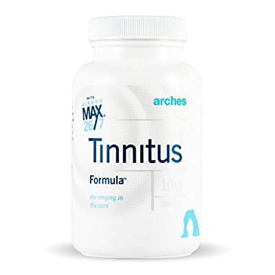 Arches Tinnitus Starter Kit - Now with Ginkgo Max 26/7 - Natural Tinnitus Treatment for Relief from Ringing Ears - 4 Bottles - 100 Day Supply