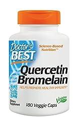 Doctor's Best Quercetin Bromelain, Non-G...