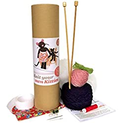 Knit Your Own Kitties Complete Knitting Kit