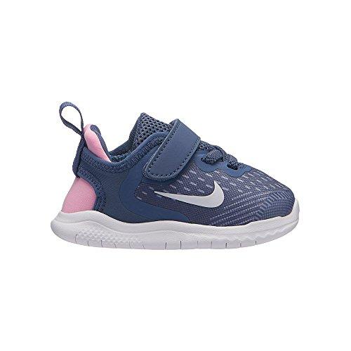 Blue pink Free Scarpe Multicolore TDV 402 402 Slate Diffused Bambino White Run ashen AH3456 NIKE 2018 6qvwEwd