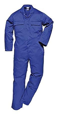 hombre//caballero Portwest Ropa de trabajo 2XL x Long//Azul marino Mono de trabajo polyalgod/ón Modelo EURO S999