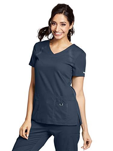 Grey's Anatomy Active 41447 Raglan Top Steel S