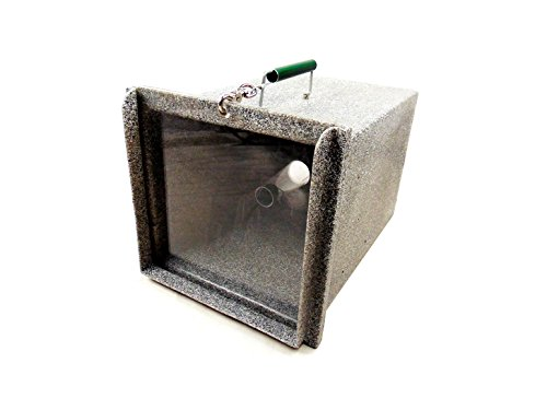 Tomahawk Model 465GC Repeating Plastic Snake Trap (Gray with Clear Door)