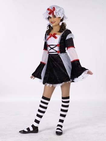 Halloween FX Rag Darlin' Child Costume - Large -