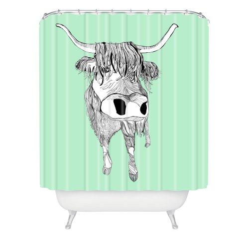 Deny Designs Casey Rogers Shaggy Head Shower Curtain, 69