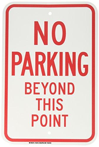 (Brady 124318 Traffic Control Sign, Legend