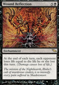 Magic: the Gathering - Wound Reflection - Shadowmoor - Foil