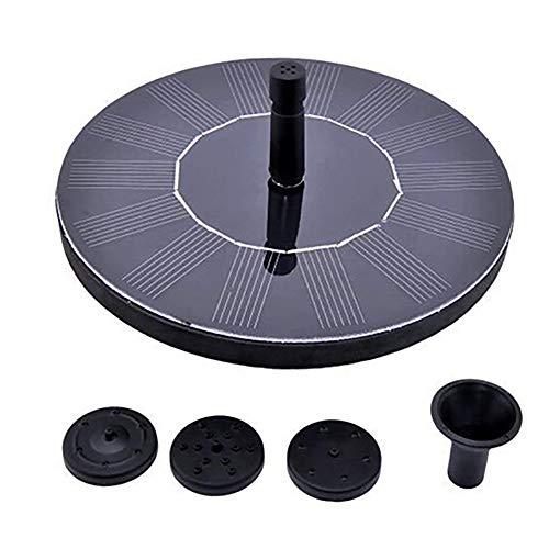 (MacRoog Solar Fountain Pump Outdoor Water Pump Fountain Panel Kits for Bird Bath Small Pond)