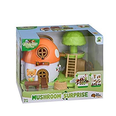 Fat Brain Toys Timber Tots Mushroom Surprise Dolls & Dollhouses for Ages 2 to 5: Toys & Games
