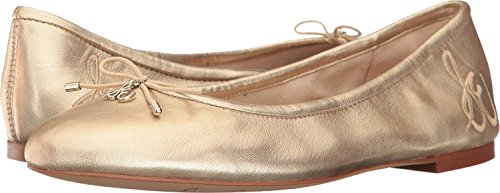 Felicia Molten Leather Gold Sheep Mujer Bailarinas Metallic Soft Edleman Sam 5xwqPnR1q