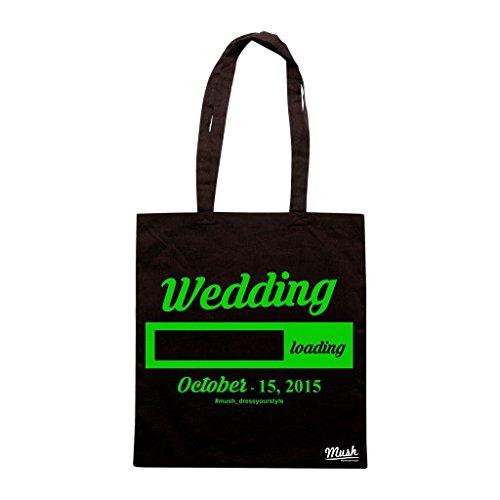 Borsa Wedding Matrimonio Sposi 12 - Nera - Mush by Mush Dress Your Style Venta Barata De Alta Calidad Auténtico Nuevos Estilos En Línea Barato Holgura Con Paypal giZfOYP