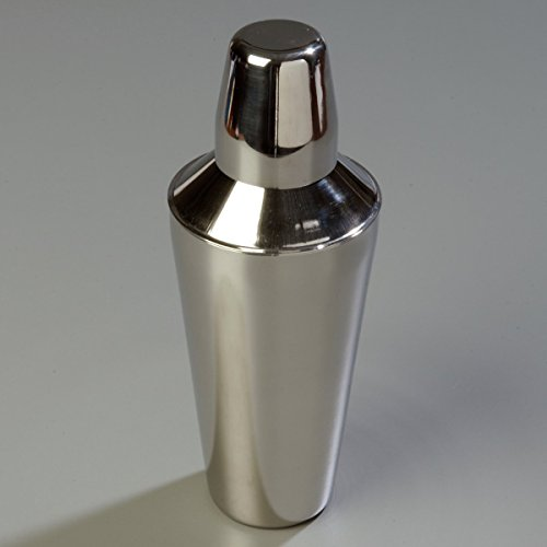 Carlisle 608600 Bar Essential Stainless Steel 18-8 Classic Cocktail Shaker, 30 oz. Capacity, 3-3/4 x 9-3/4'' (Case of 12) by Carlisle (Image #6)