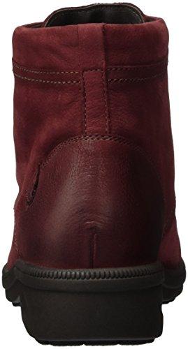 Ganter Kathy, Weite K, Botines para Mujer Rojo - Rot (rubin 4300)