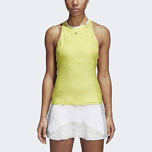 adidas Women's Spring Stella McCartney Tank Top (Yellow) (M)