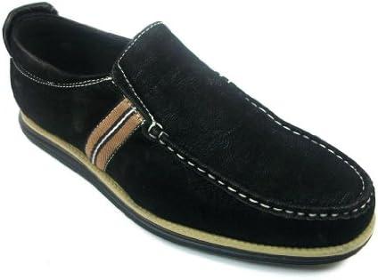 Mens Aldo Black Slip On Casual Driving Loafer Shoes