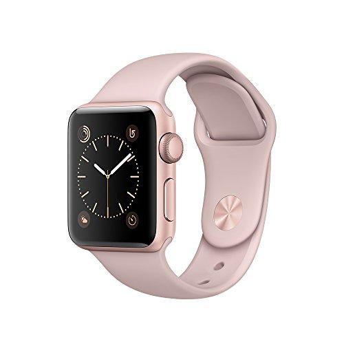 Apple Watch Series 2 38mm ローズゴールドアルミニウムケースとピンクサンドスポーツバンド MNRT2J/A