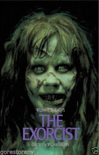 the exorcist 1973 movie poster 24x36 by the gore store amazon co