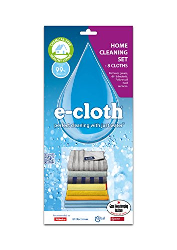 e-cloth Home Cleaning Set, 8 Piece