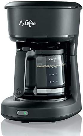 Mr. Coffee 2129512, 5-Cup Mini Brew Switch Coffee Maker, Black   Amazon