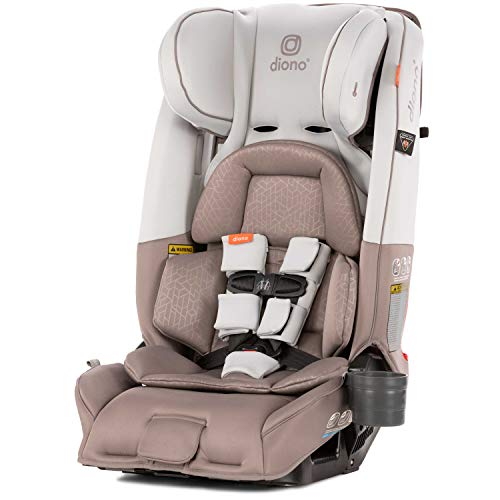 Diono Radian 3RXT All-in-One Convertible Car Seat, for Children from Birth to 120 Pounds, Grey Oyster ()