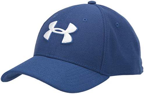 Under Armour Mens Ua Mens Heathered Blitzing 3.0 Baseball Cap Function Snapback