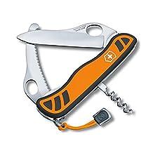 Victorinox 0.8331.MC9 Couteau de poche Hunter XS,Orange/noir