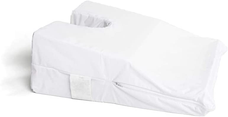 Hermell Products Inc. Hermell Face Down Pillow, Small, White