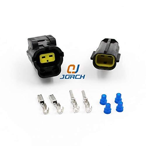 Ochoos 2 Pin Automotive Connector for Mazda RX7 FD Intake Air Temp (IAT) Sensor Connectors Engine Room Position Plug 174352-2 174354-2: DIY & Tools