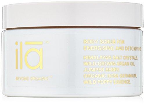 ila-Spa Body Scrub for Energizing and Detoxifying, 8.82 fl. oz. (Energizing Body Soak)