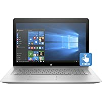 Premium 2018 HP ENVY 17t 17.3 Inch Flagship IPS FHD Touchscreen Laptop (Intel Core i7-7500U 2.7GHz, 16GB DDR4 RAM, 256GB SSD, Backlit Keyboard, NVIDIA GeForce 940MX, Webcam, Windows 10)