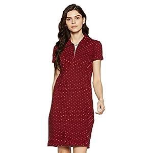 Cherokee by Unlimited Women's A-Line Knee-Long Dress