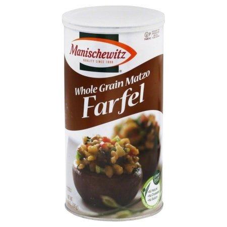 Manischewitz Whole Grain Matzo Farfel 14 oz. Canister (Pack of 2)