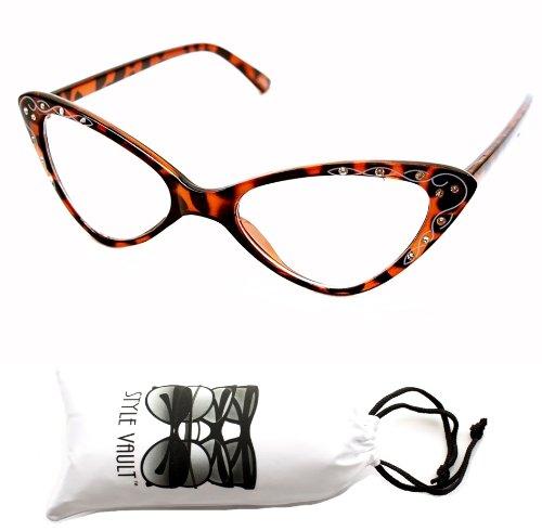 Wm527-vp Cateye Teachers Sunglasses Eyeglasses (wil Tortoise, - 2013 Sunglasses Women
