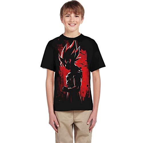 Boys Girls Dragon Ball Z T-Shirts Unisex Kids 3D Print Cartoon DBZ Tops Summer Tee Shirt ()
