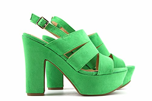 MODELISA Women's 9202 Court Shoes Green EqVg1Gh