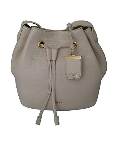 DKNY Drawstring Sand Leather DKNY Donna Dollar Shoulder Donna Karan Bag q47vCqd
