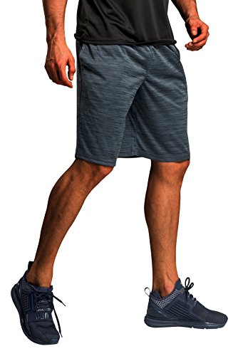 Jersey Running Basketball (CYZ Collection CYZ Men's Performance Jersey Short-Charcoal Melange-L)