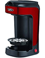 Bella BLA14485 One Scoop Cup Coffee Maker Red And Stainless Steel