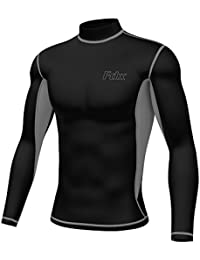 Men's Super Thermal Compression Armour Base Layer Long Sleeve Cold Wear Top