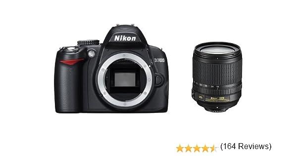 Nikon D3000 - Cámara Réflex Digital 10.2 MP (Objetivo 18-105 VR ...
