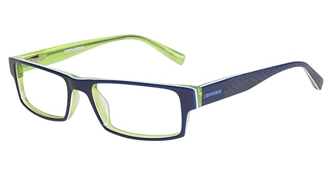 6abc60abe1dd Amazon.com: CONVERSE Eyeglasses NEWSPRINT Navy 51MM: Clothing