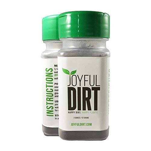 (Joyful Dirt Concentrated All Purpose Organic Fertilizer and Plant Food. Easy Use Shaker (2 oz))