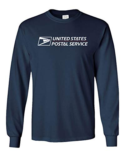 USPS T-Shirt Shirt Postal t Shirt United States Service Eagle T Shirt (Navy (Long), 3X-Large) -
