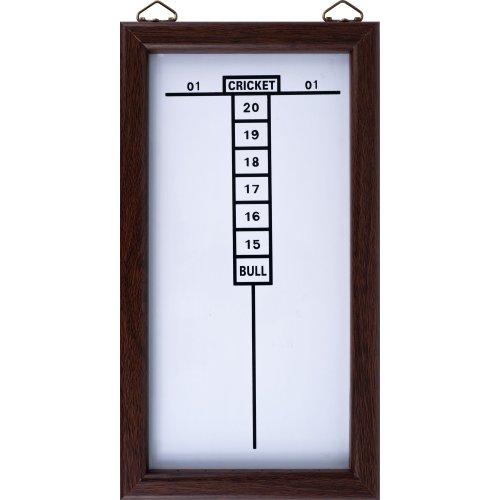 Trademark Gameroom Dry Erase Dartboard Cricket Scoreboard by TG