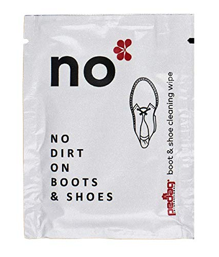 (Pedag Wipes No Kit - Cleans and Shines Shoes and Boots When Travel - Set of 10 )